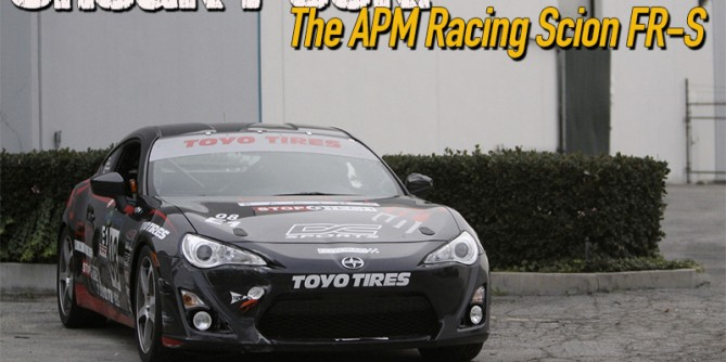 Sneak Peek: The APM Racing Scion FR-S