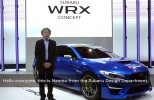 WRX Concept gets walkaround with Subaru design boss Osamu Namba